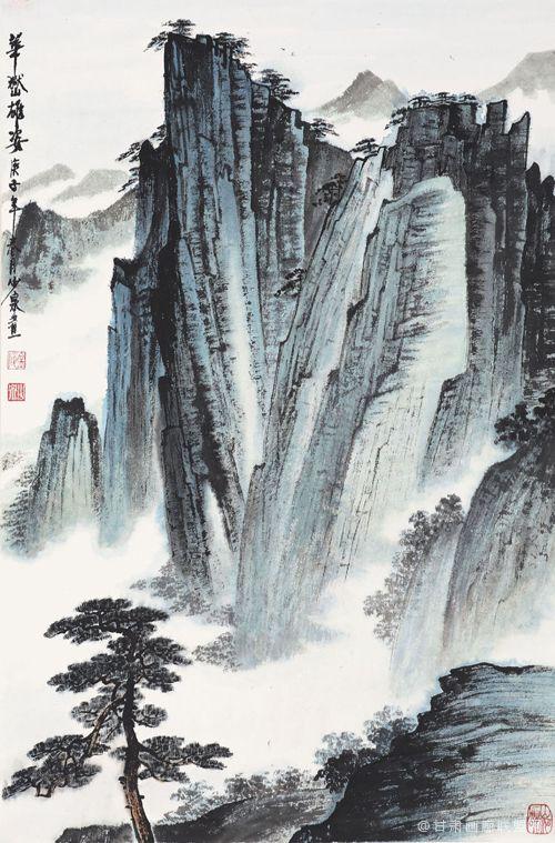 大境界·2021当代收藏潜力书画名家推荐 当代金陵画派大家罗建泉